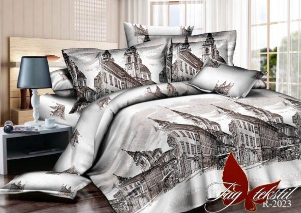 Комплект постельного белья R2023  ПОСТЕЛЬНОЕ БЕЛЬЕ ТМ TAG > Евро > Ренфорс