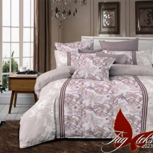 Комплект постельного белья R2023begie  ПОСТЕЛЬНОЕ БЕЛЬЕ ТМ TAG > 1.5-спальные > Ренфорс