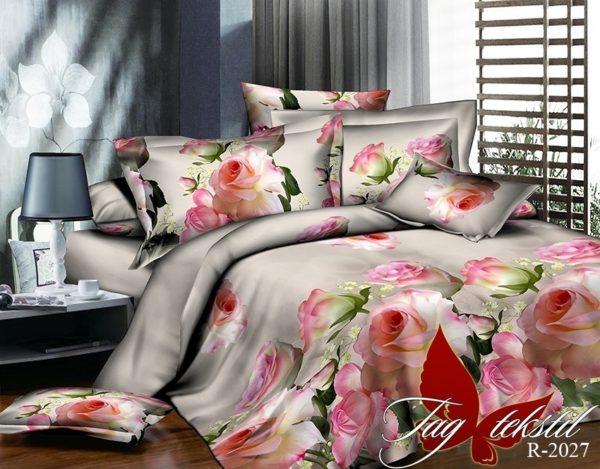 Комплект постельного белья R2027  ПОСТЕЛЬНОЕ БЕЛЬЕ ТМ TAG > 2-спальные > Ренфорс
