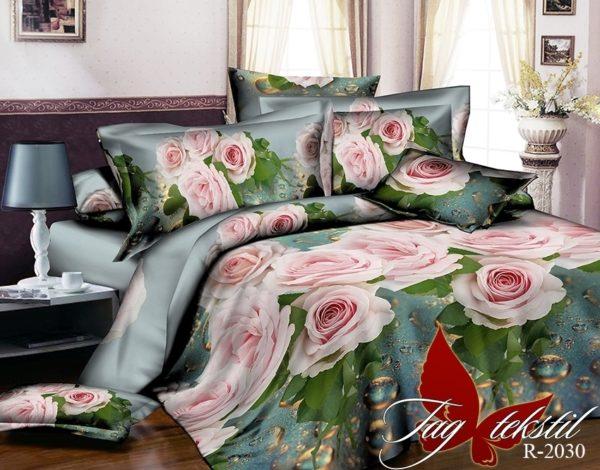 Комплект постельного белья R2030  ПОСТЕЛЬНОЕ БЕЛЬЕ ТМ TAG > 2-спальные > Ренфорс
