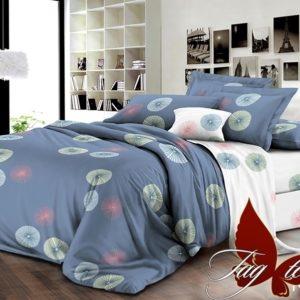 Комплект постельного белья с компаньоном R2037-2  ПОСТЕЛЬНОЕ БЕЛЬЕ ТМ TAG > Евро > Ренфорс