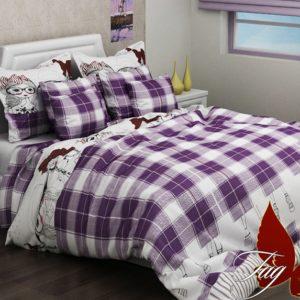 КПБ R2068 violet  ПОСТЕЛЬНОЕ БЕЛЬЕ И ТОВАРЫ ДЛЯ ДЕТЕЙ > 1.5-спальные