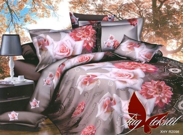 Комплект постельного белья R2098  ПОСТЕЛЬНОЕ БЕЛЬЕ ТМ TAG > 2-спальные > Ренфорс