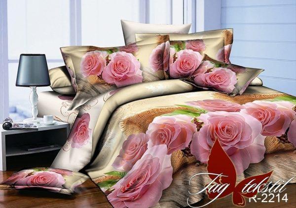 Комплект постельного белья R2214  ПОСТЕЛЬНОЕ БЕЛЬЕ ТМ TAG > 2-спальные > Ренфорс