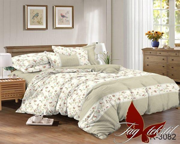 Комплект постельного белья R3082  ПОСТЕЛЬНОЕ БЕЛЬЕ ТМ TAG > 2-спальные > Ренфорс