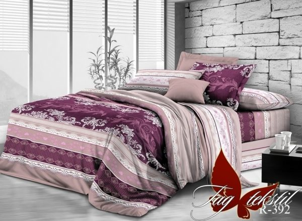 Комплект постельного белья R392  ПОСТЕЛЬНОЕ БЕЛЬЕ ТМ TAG > 1.5-спальные > Ренфорс