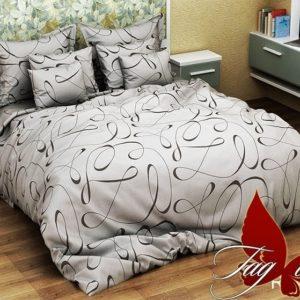 Комплект постельного белья R4047grey  ПОСТЕЛЬНОЕ БЕЛЬЕ ТМ TAG > 2-спальные > Ренфорс