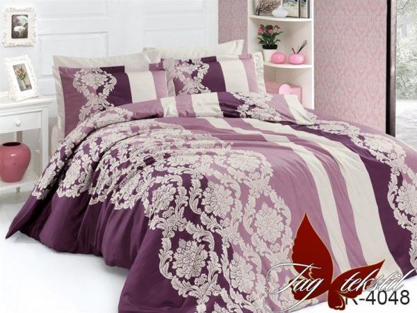 Комплект постельного белья R4048  ПОСТЕЛЬНОЕ БЕЛЬЕ ТМ TAG > 2-спальные > Ренфорс