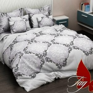 Комплект постельного белья R4050  ПОСТЕЛЬНОЕ БЕЛЬЕ ТМ TAG > 2-спальные > Ренфорс