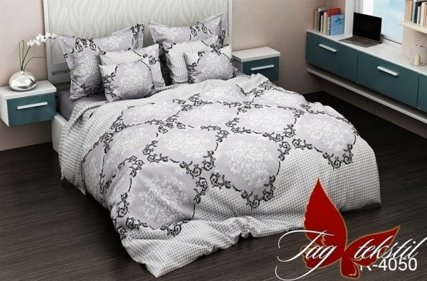 Комплект постельного белья R4050  ПОСТЕЛЬНОЕ БЕЛЬЕ ТМ TAG > 1.5-спальные > Ренфорс