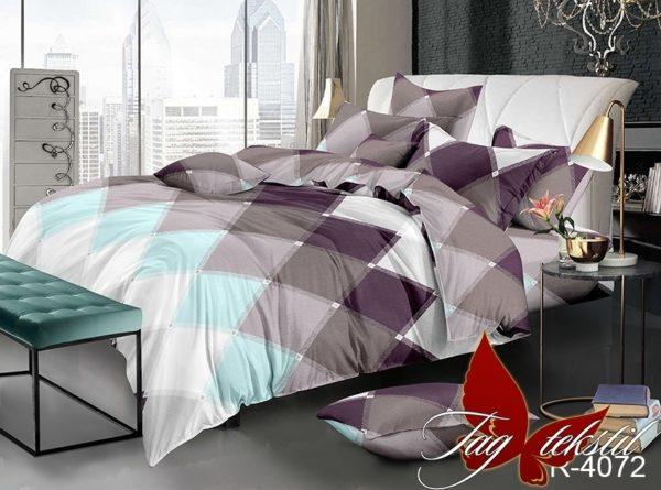 Комплект постельного белья R4072  ПОСТЕЛЬНОЕ БЕЛЬЕ ТМ TAG > 1.5-спальные > Ренфорс