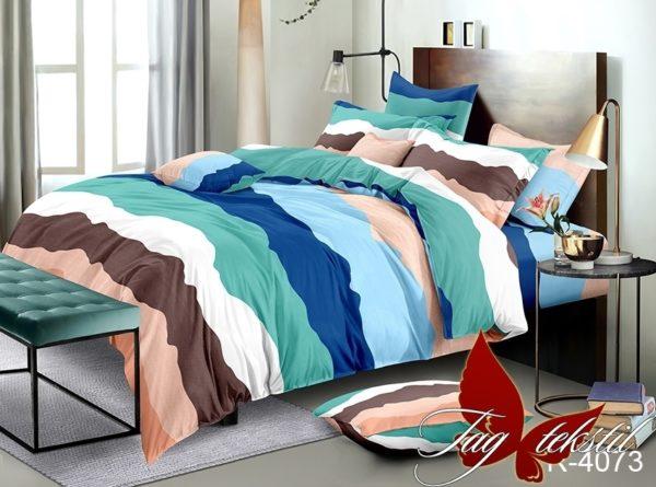 Комплект постельного белья R4073  ПОСТЕЛЬНОЕ БЕЛЬЕ ТМ TAG > 2-спальные > Ренфорс