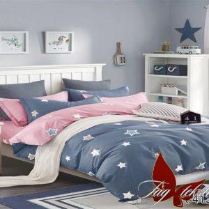 Комплект постельного белья с компаньоном R4131  ПОСТЕЛЬНОЕ БЕЛЬЕ ТМ TAG > 2-спальные > Ренфорс