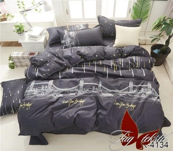 Комплект постельного белья с компаньоном R4134  ПОСТЕЛЬНОЕ БЕЛЬЕ ТМ TAG > 2-спальные > Ренфорс