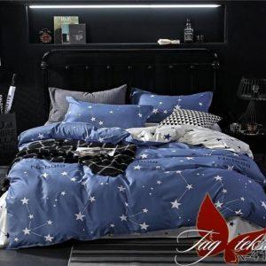 Комплект постельного белья с компаньоном R4135  ПОСТЕЛЬНОЕ БЕЛЬЕ ТМ TAG > 2-спальные > Ренфорс