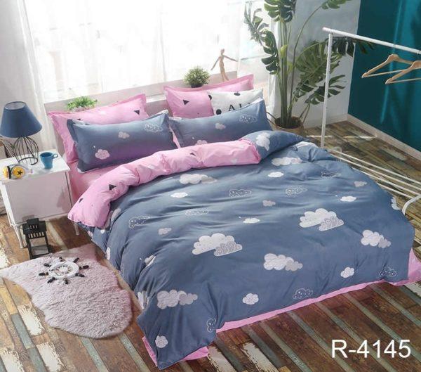 Комплект постельного белья с компаньоном R4145  ПОСТЕЛЬНОЕ БЕЛЬЕ ТМ TAG > 2-спальные > Ренфорс