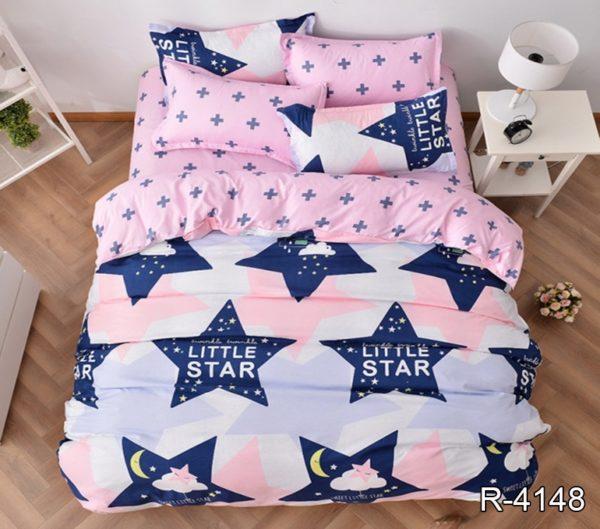 Комплект постельного белья с компаньоном R4148  ПОСТЕЛЬНОЕ БЕЛЬЕ ТМ TAG > 2-спальные > Ренфорс
