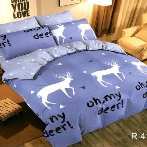Комплект постельного белья с компаньоном R4153  ПОСТЕЛЬНОЕ БЕЛЬЕ ТМ TAG > 2-спальные > Ренфорс