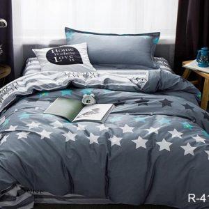 Комплект постельного белья с компаньоном R4159  ПОСТЕЛЬНОЕ БЕЛЬЕ ТМ TAG > 2-спальные > Ренфорс