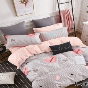 Комплект постельного белья с компаньоном R4162  ПОСТЕЛЬНОЕ БЕЛЬЕ ТМ TAG > 2-спальные > Ренфорс