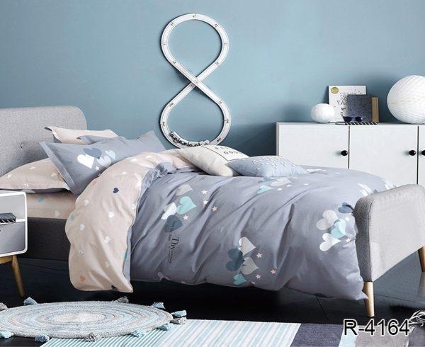 Комплект постельного белья с компаньоном R4164  ПОСТЕЛЬНОЕ БЕЛЬЕ ТМ TAG > 2-спальные > Ренфорс