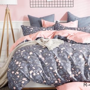 Комплект постельного белья с компаньоном R4170  ПОСТЕЛЬНОЕ БЕЛЬЕ ТМ TAG > Семейные > Ренфорс