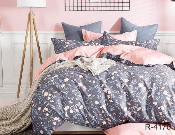 Комплект постельного белья с компаньоном R4170  ПОСТЕЛЬНОЕ БЕЛЬЕ ТМ TAG > 2-спальные > Ренфорс