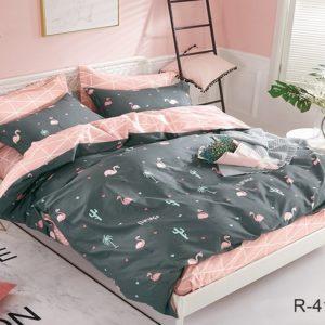 Комплект постельного белья с компаньоном R4174  ПОСТЕЛЬНОЕ БЕЛЬЕ ТМ TAG > 2-спальные > Ренфорс