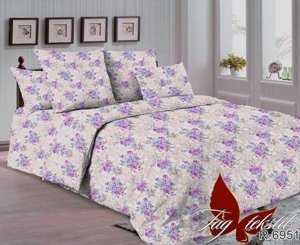 Комплект постельного белья R-6951  ПОСТЕЛЬНОЕ БЕЛЬЕ ТМ TAG > 2-спальные > Ренфорс
