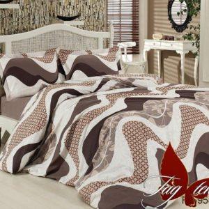 Комплект постельного белья R6958 begie  ПОСТЕЛЬНОЕ БЕЛЬЕ ТМ TAG > 2-спальные > Ренфорс