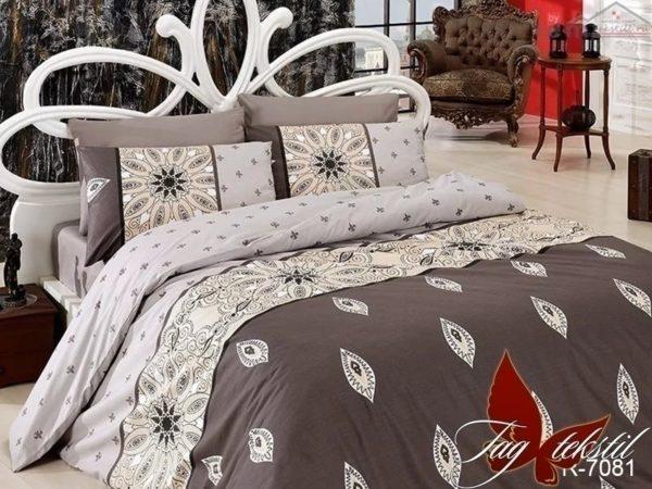 Комплект постельного белья R7081  ПОСТЕЛЬНОЕ БЕЛЬЕ ТМ TAG > Евро > Ренфорс