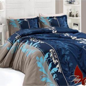 Комплект постельного белья R7085 blue  ПОСТЕЛЬНОЕ БЕЛЬЕ ТМ TAG > 2-спальные > Ренфорс