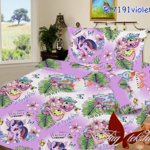 Комплект постельного белья 7191violet  ПОСТЕЛЬНОЕ БЕЛЬЕ И ТОВАРЫ ДЛЯ ДЕТЕЙ > 1.5-спальные 160х220