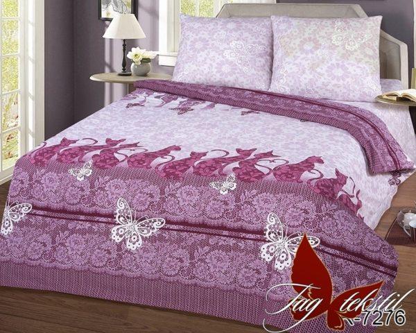 Комплект постельного белья с компаньоном R7276  ПОСТЕЛЬНОЕ БЕЛЬЕ ТМ TAG > 2-спальные > Ренфорс
