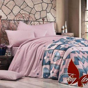 Комплект постельного белья с компаньоном R7402  ПОСТЕЛЬНОЕ БЕЛЬЕ ТМ TAG > 2-спальные > Ренфорс