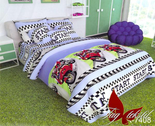 Комплект постельного белья R7408  ПОСТЕЛЬНОЕ БЕЛЬЕ И ТОВАРЫ ДЛЯ ДЕТЕЙ > 1.5-спальные 160х220