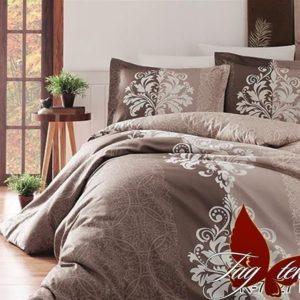 Комплект постельного белья R7427 brown  ПОСТЕЛЬНОЕ БЕЛЬЕ ТМ TAG > 1.5-спальные > Ренфорс