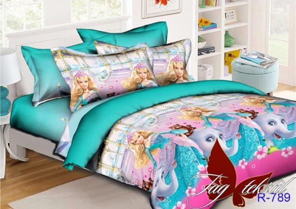 Комплект постельного белья R789  ПОСТЕЛЬНОЕ БЕЛЬЕ И ТОВАРЫ ДЛЯ ДЕТЕЙ > 1.5-спальные 160х220