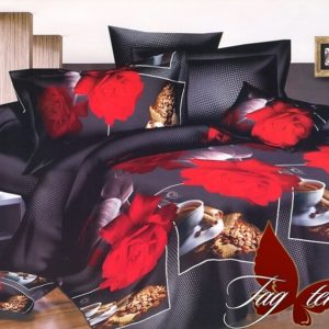 Комплект постельного белья R835  ПОСТЕЛЬНОЕ БЕЛЬЕ ТМ TAG > 1.5-спальные > Ренфорс