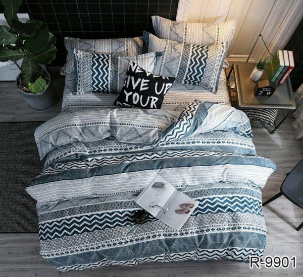 Комплект постельного белья с компаньоном R9901  ПОСТЕЛЬНОЕ БЕЛЬЕ ТМ TAG > 2-спальные > Ренфорс