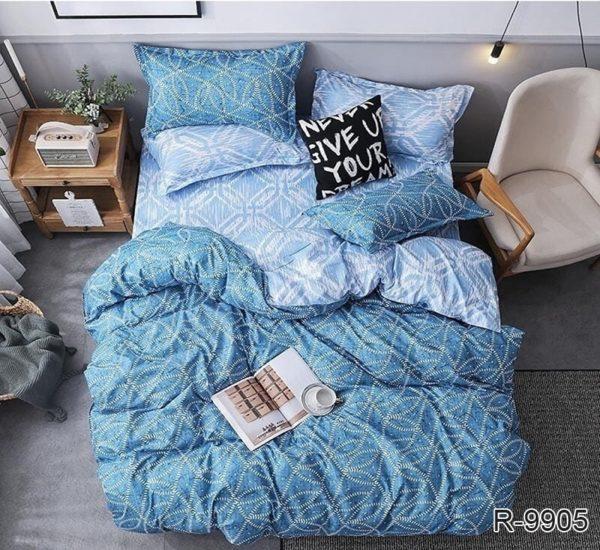 Комплект постельного белья с компаньоном R9905  ПОСТЕЛЬНОЕ БЕЛЬЕ ТМ TAG > 2-спальные > Ренфорс