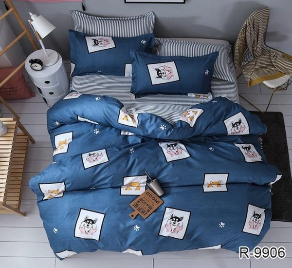 Комплект постельного белья с компаньоном R9906  ПОСТЕЛЬНОЕ БЕЛЬЕ ТМ TAG > 2-спальные > Ренфорс
