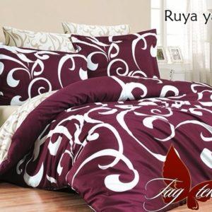 Комплект постельного белья с компаньоном Ruya yakut  ПОСТЕЛЬНОЕ БЕЛЬЕ ТМ TAG > Семейные > Ренфорс