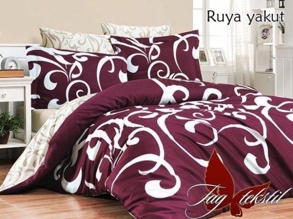 Комплект постельного белья с компаньоном Ruya yakut  ПОСТЕЛЬНОЕ БЕЛЬЕ ТМ TAG > 2-спальные > Ренфорс