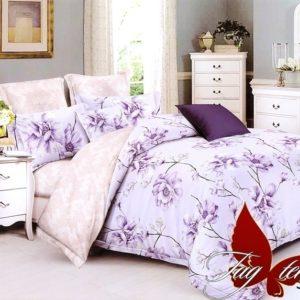 Комплект постельного белья с компаньоном S-133  ПОСТЕЛЬНОЕ БЕЛЬЕ ТМ TAG > 1.5-спальные > Сатин люкс ТМ TAG