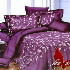 Комплект постельного белья с компаньоном S-155  ПОСТЕЛЬНОЕ БЕЛЬЕ ТМ TAG > Евро > Сатин люкс ТМ TAG