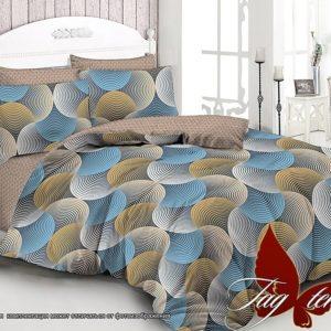 Комплект постельного белья с компаньоном S163  ПОСТЕЛЬНОЕ БЕЛЬЕ ТМ TAG > Евро > Сатин люкс ТМ TAG