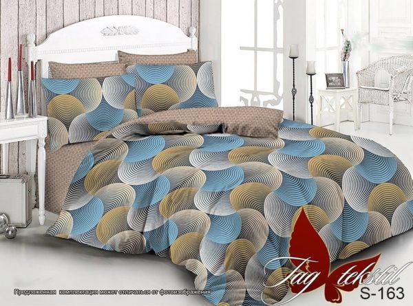 Комплект постельного белья с компаньоном S163  ПОСТЕЛЬНОЕ БЕЛЬЕ ТМ TAG > 2-спальные > Сатин люкс ТМ TAG