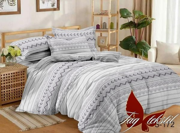 Комплект постельного белья с компаньоном S172  ПОСТЕЛЬНОЕ БЕЛЬЕ ТМ TAG > 2-спальные > Сатин люкс ТМ TAG