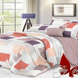 Комплект постельного белья с компаньоном S177  ПОСТЕЛЬНОЕ БЕЛЬЕ ТМ TAG > Семейные > Сатин люкс ТМ TAG